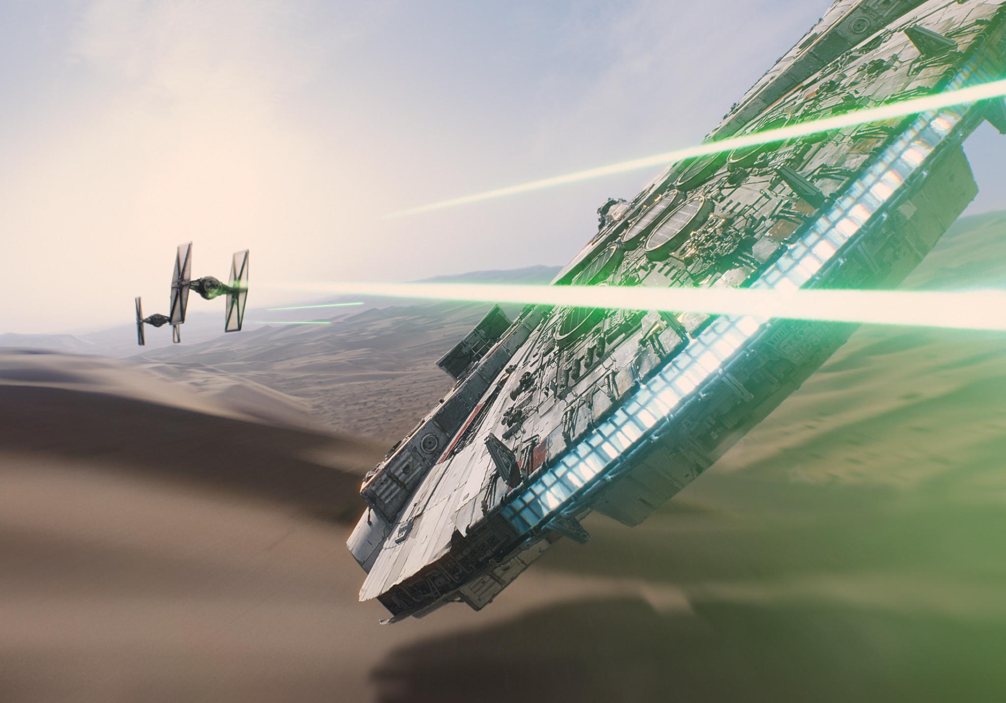 The Millennium Falcon is the real culprit of Star Wars' commercialisation - SHOOT TO KILL!'