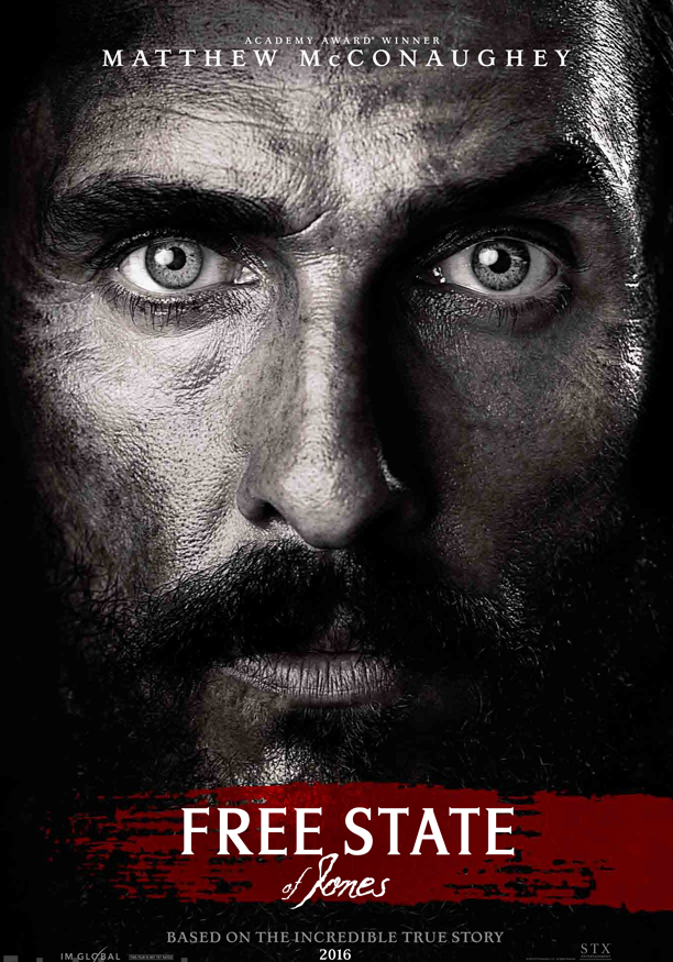 The poster captures McConaugheyreflecting the most famous image of Knight.