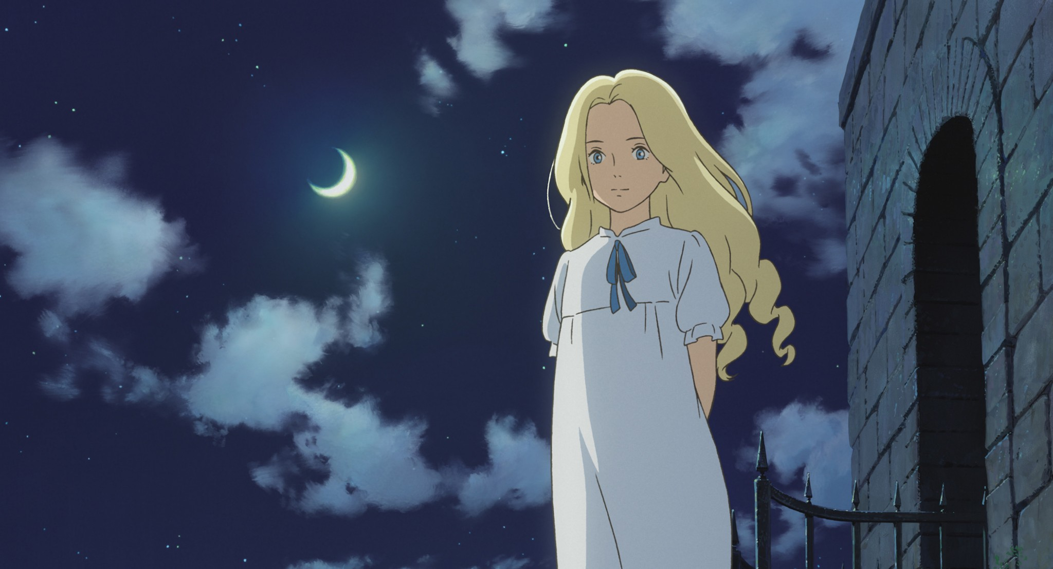 "Screenshot from ""When Marnie Was There."" (Studio Ghibli/TNS)"